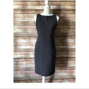 Liz Claiborne gray sheath dress